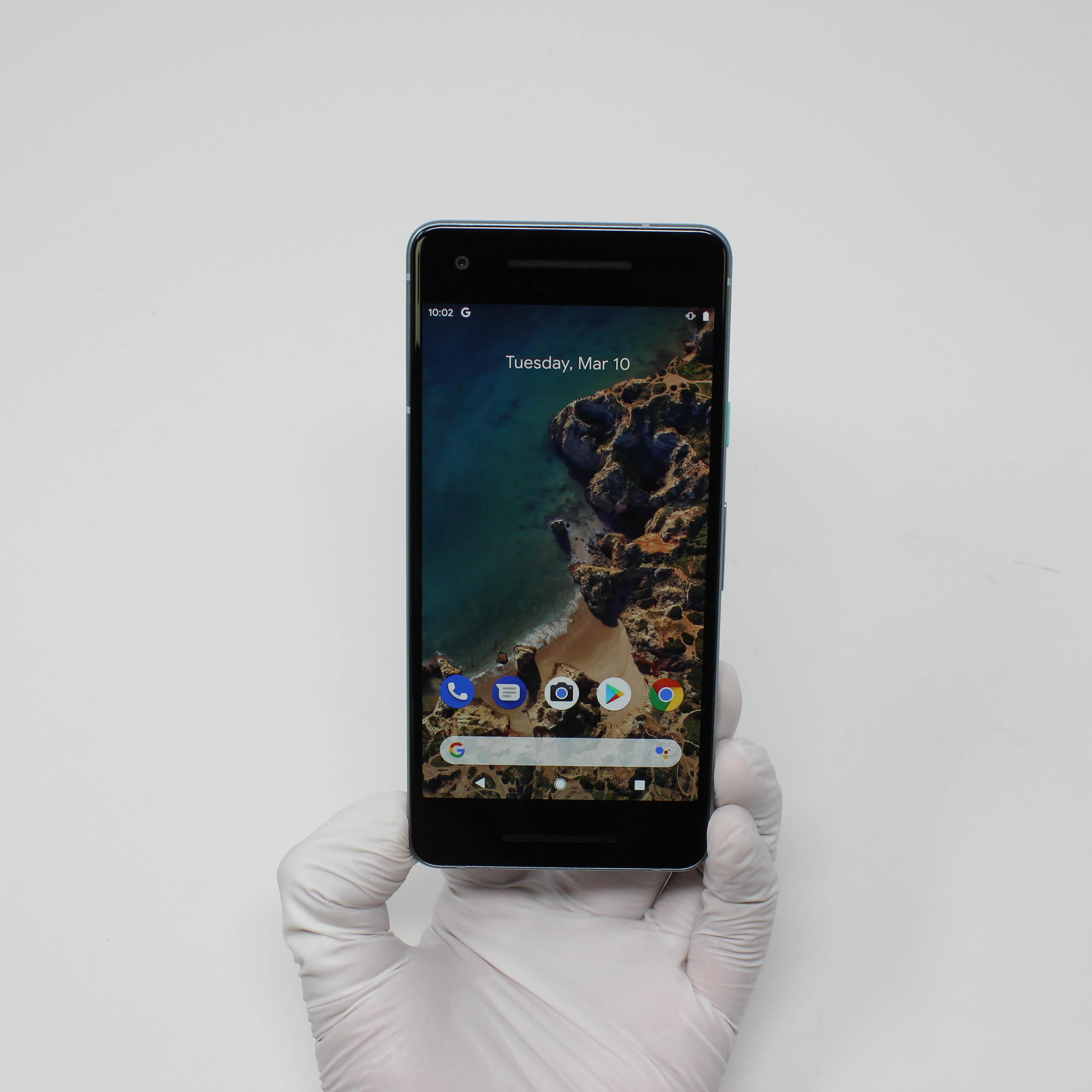 Google Pixel 2 64GB Kinda Blue - Verizon front display on   UpTradeit.com