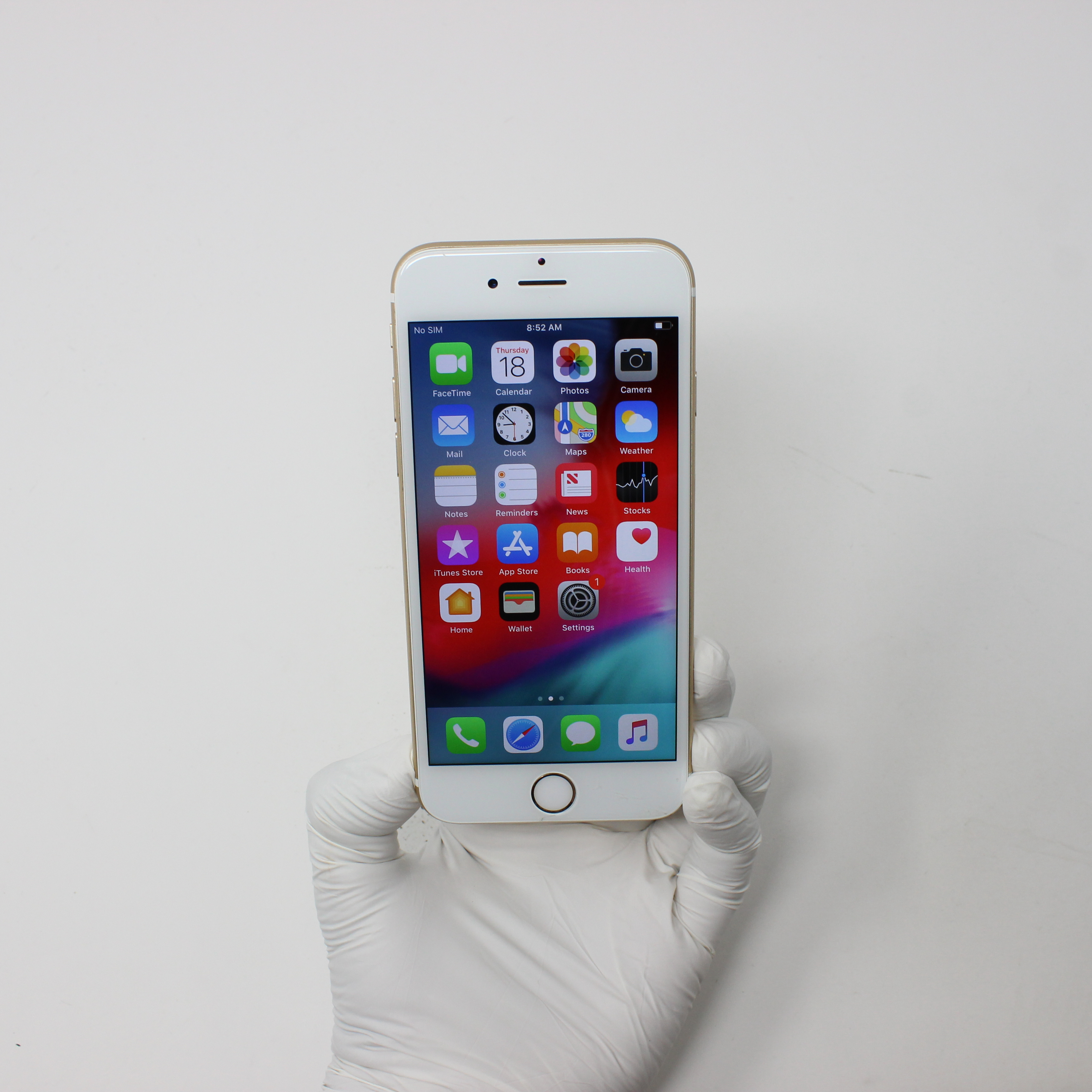 iPhone 6S 32GB Gold - AT&T front display on | UpTradeit.com