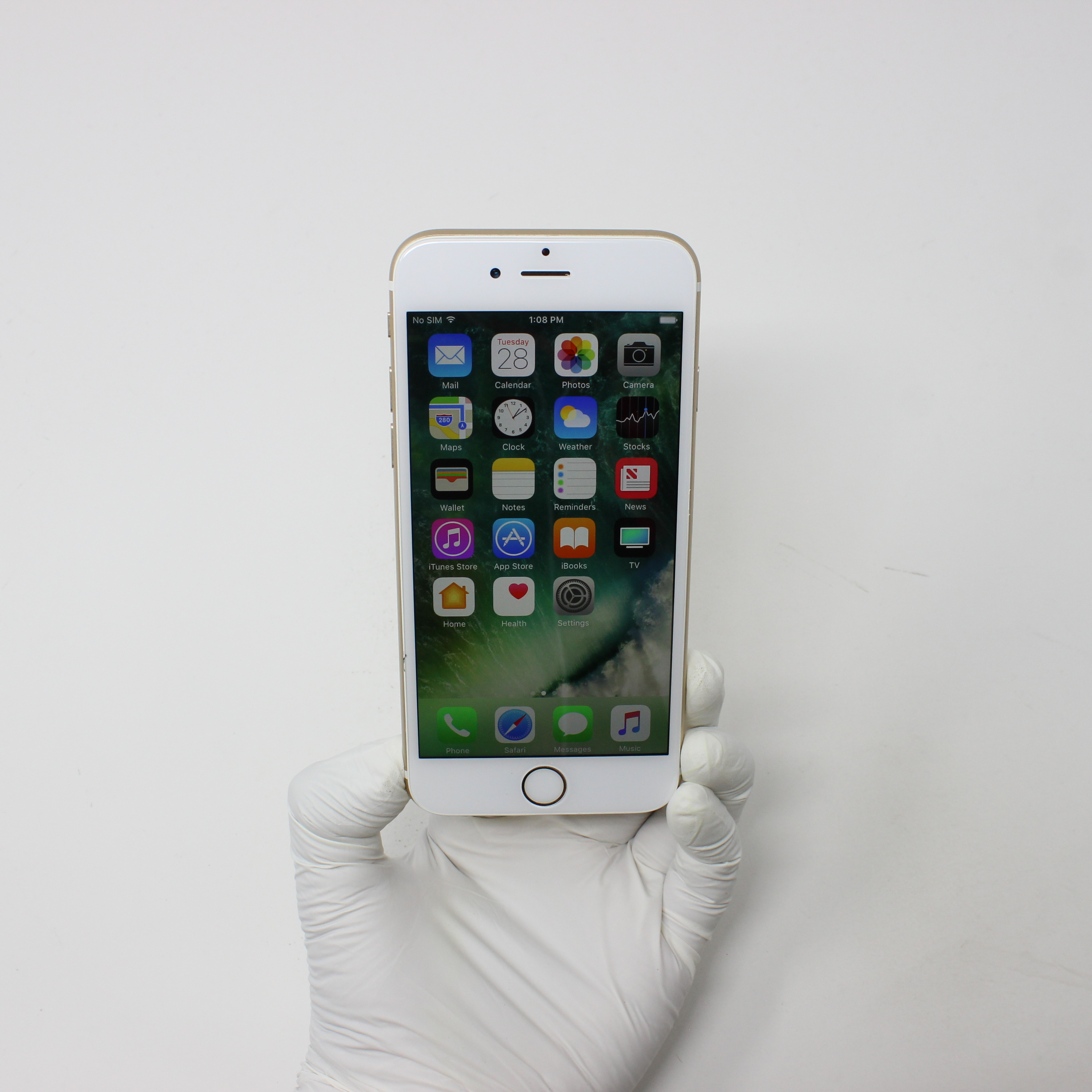 iPhone 6S 16GB Gold - AT&T front display on | UpTradeit.com