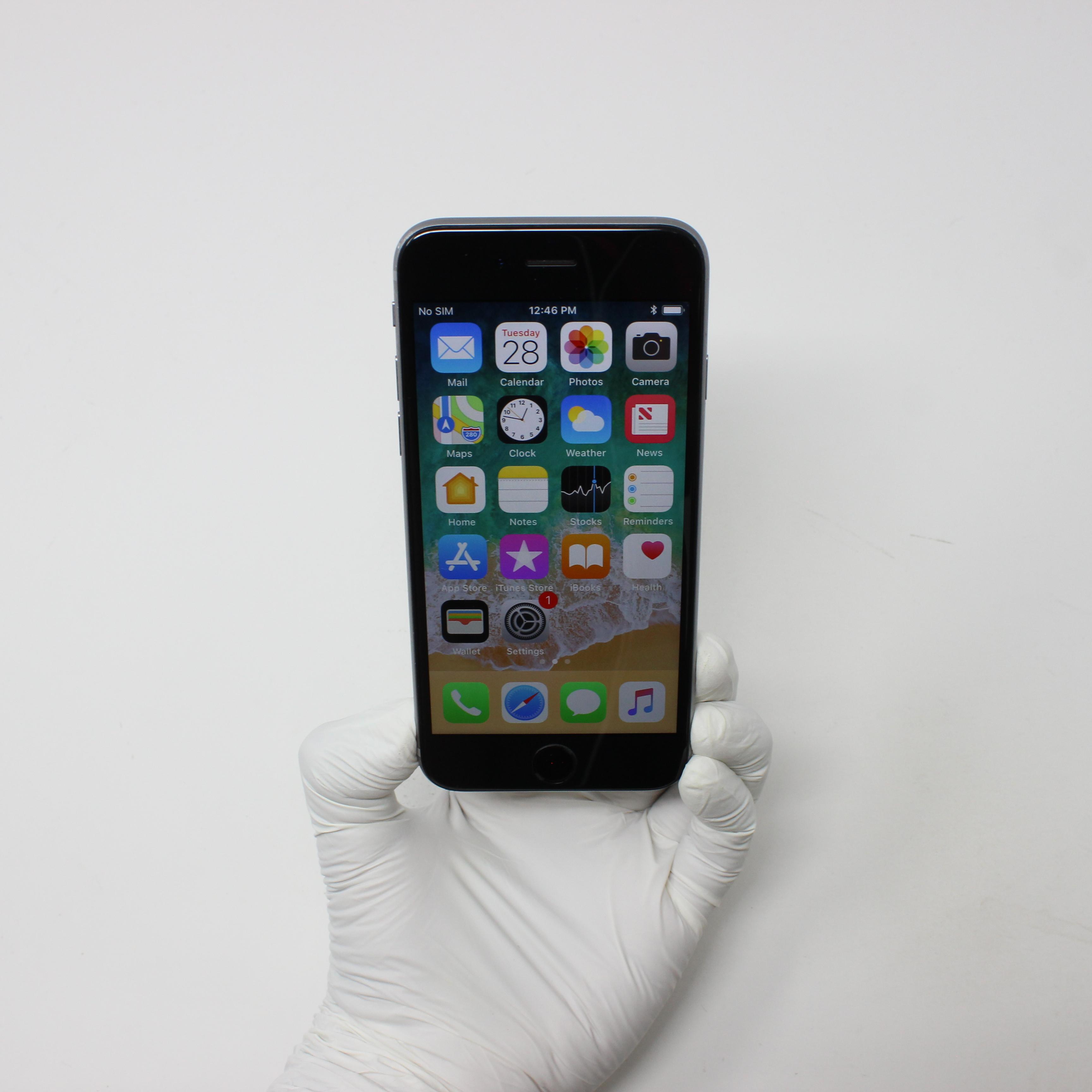 iPhone 6S 32GB Space Gray - Verizon front display on   UpTradeit.com
