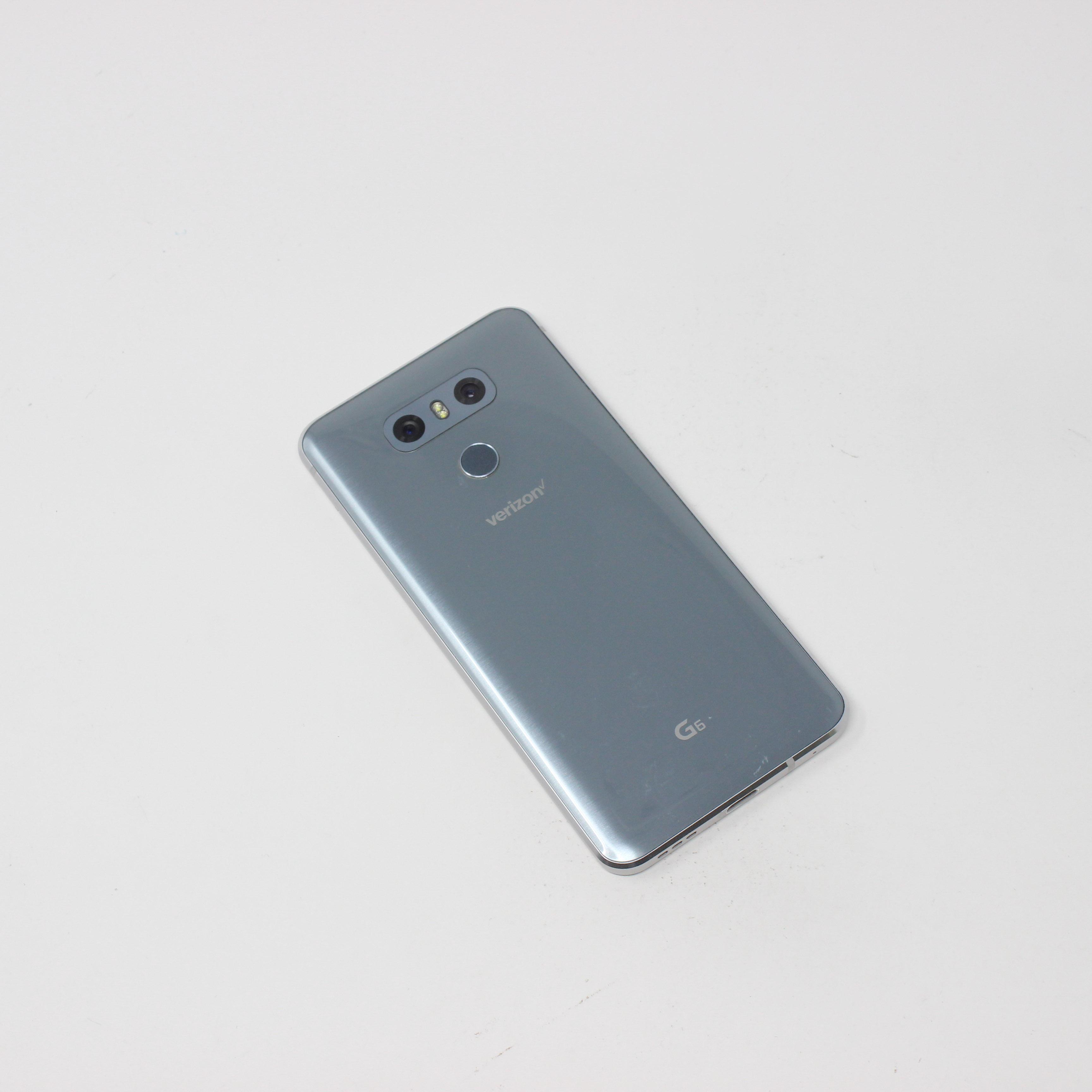 LG G6 32GB Ice Platinum - Verizon photo 3   UpTradeit.com