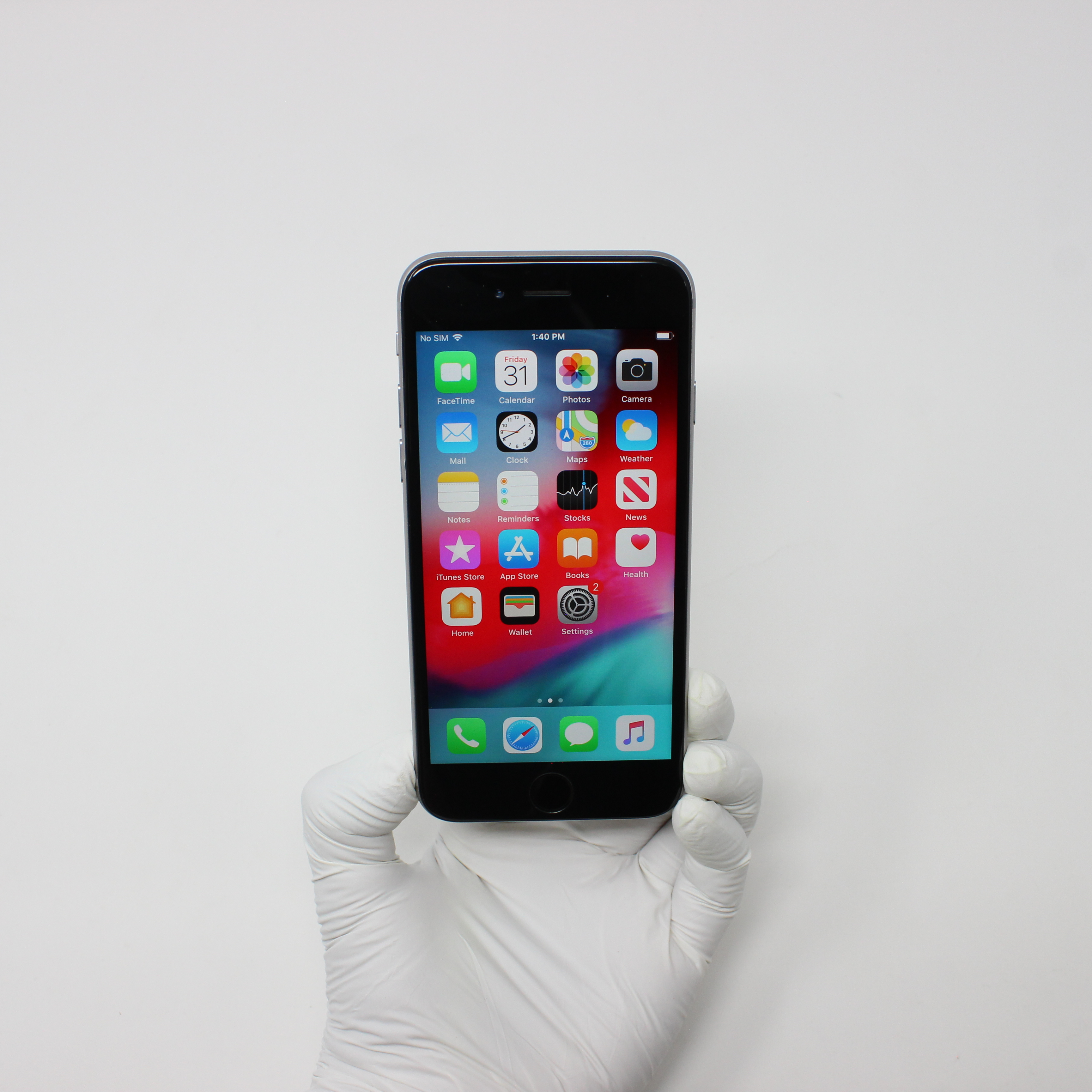 iPhone 6 64GB Space Gray - T-Mobile front display on | UpTradeit.com