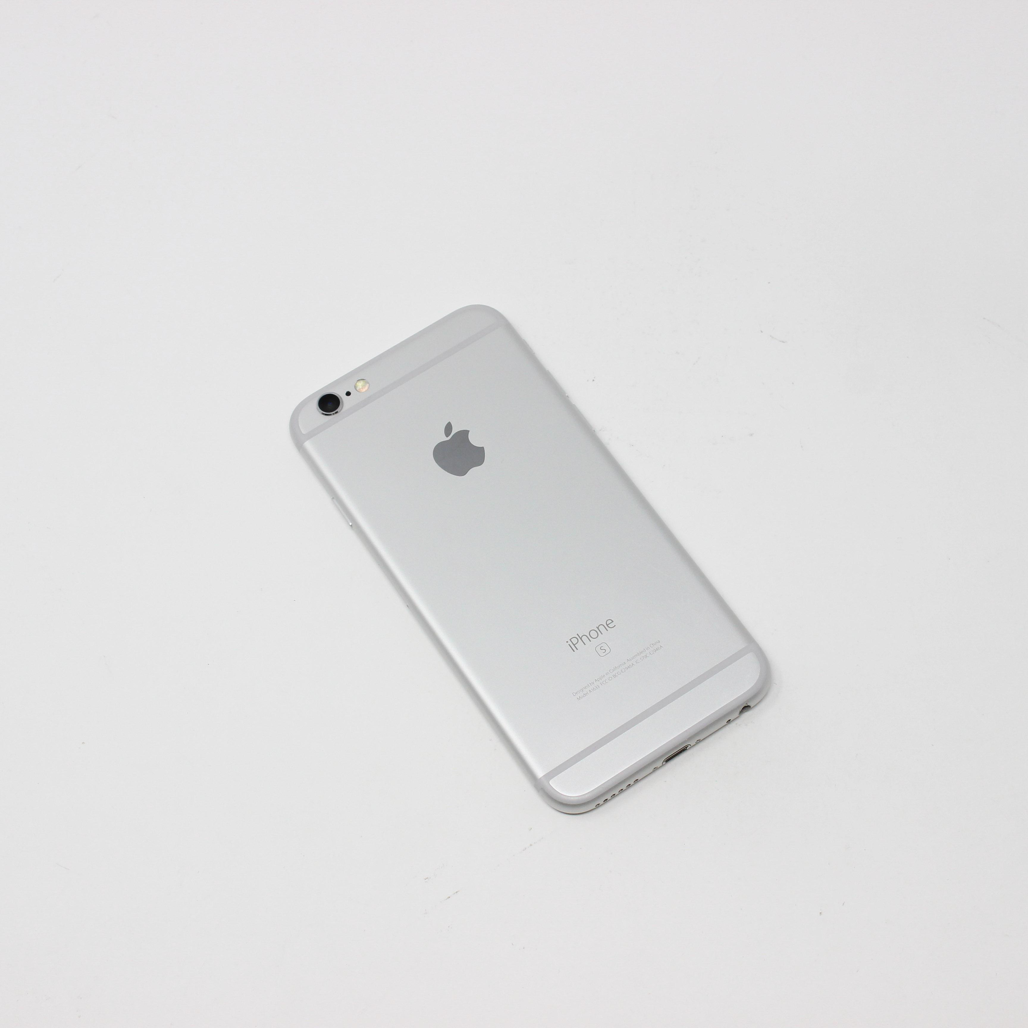 iPhone 6S 16GB Silver - AT&T photo 3   UpTradeit.com