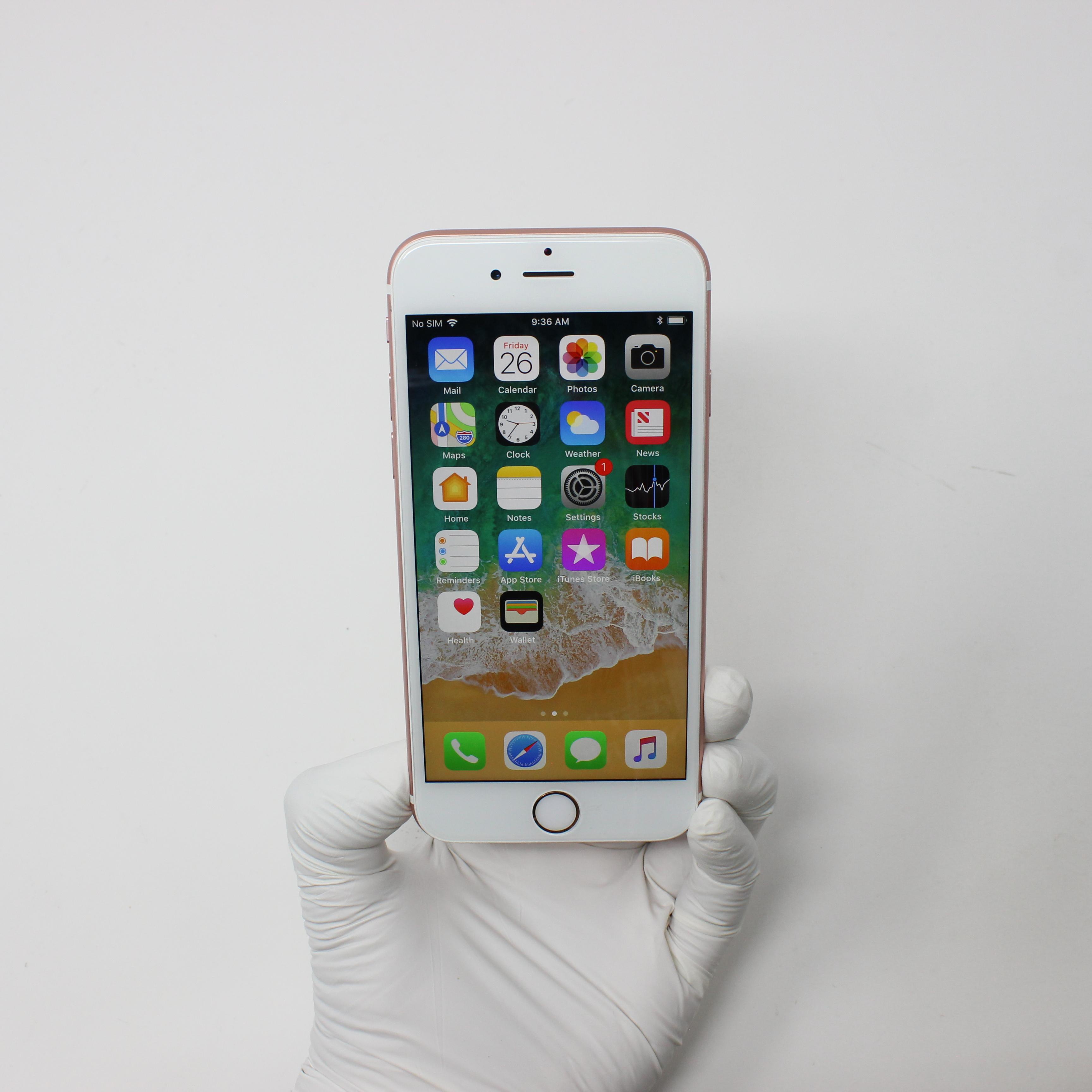 iPhone 6S 64GB Rose Gold - Verizon front display on | UpTradeit.com