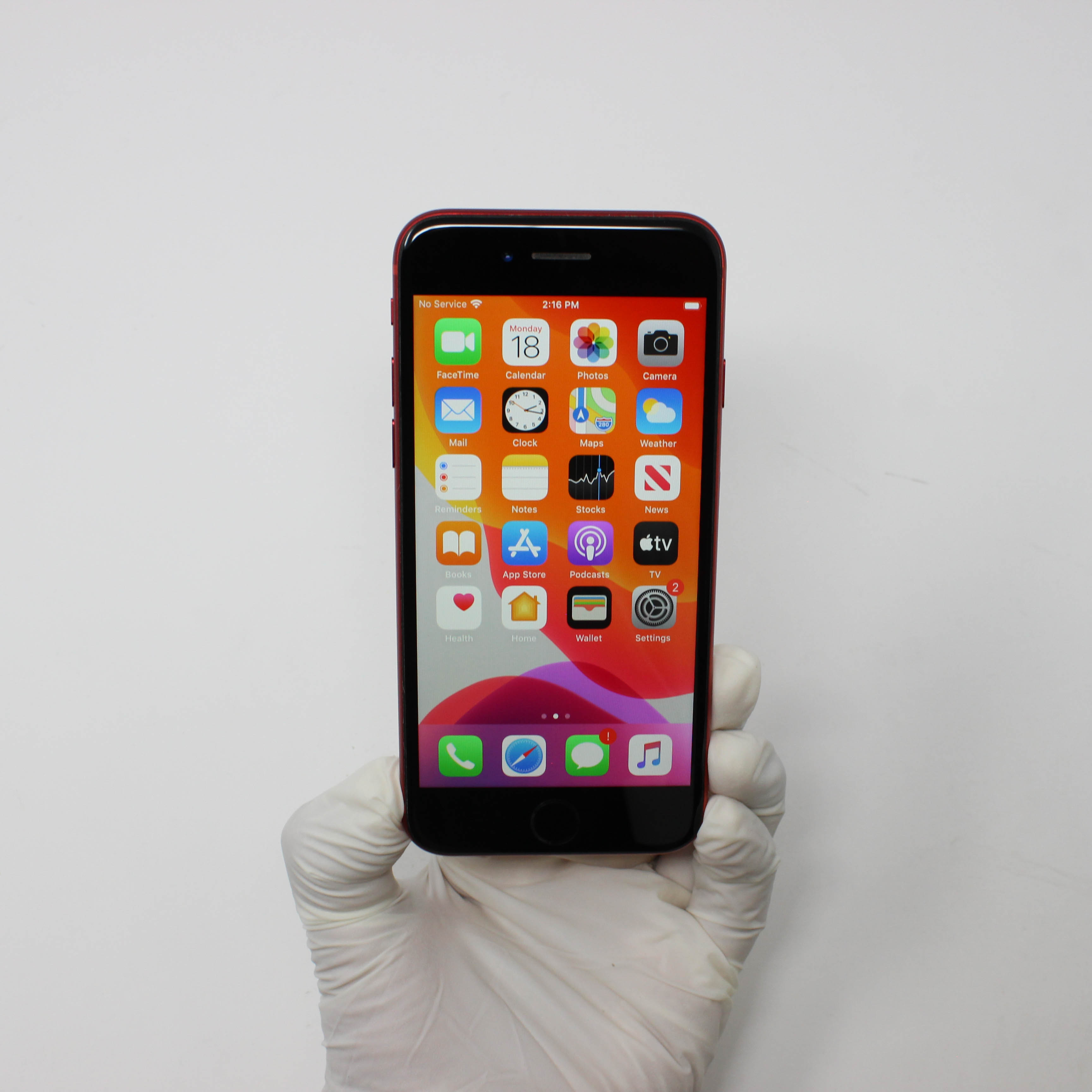 iPhone 8 256GB Gold - AT&T front display on | UpTradeit.com