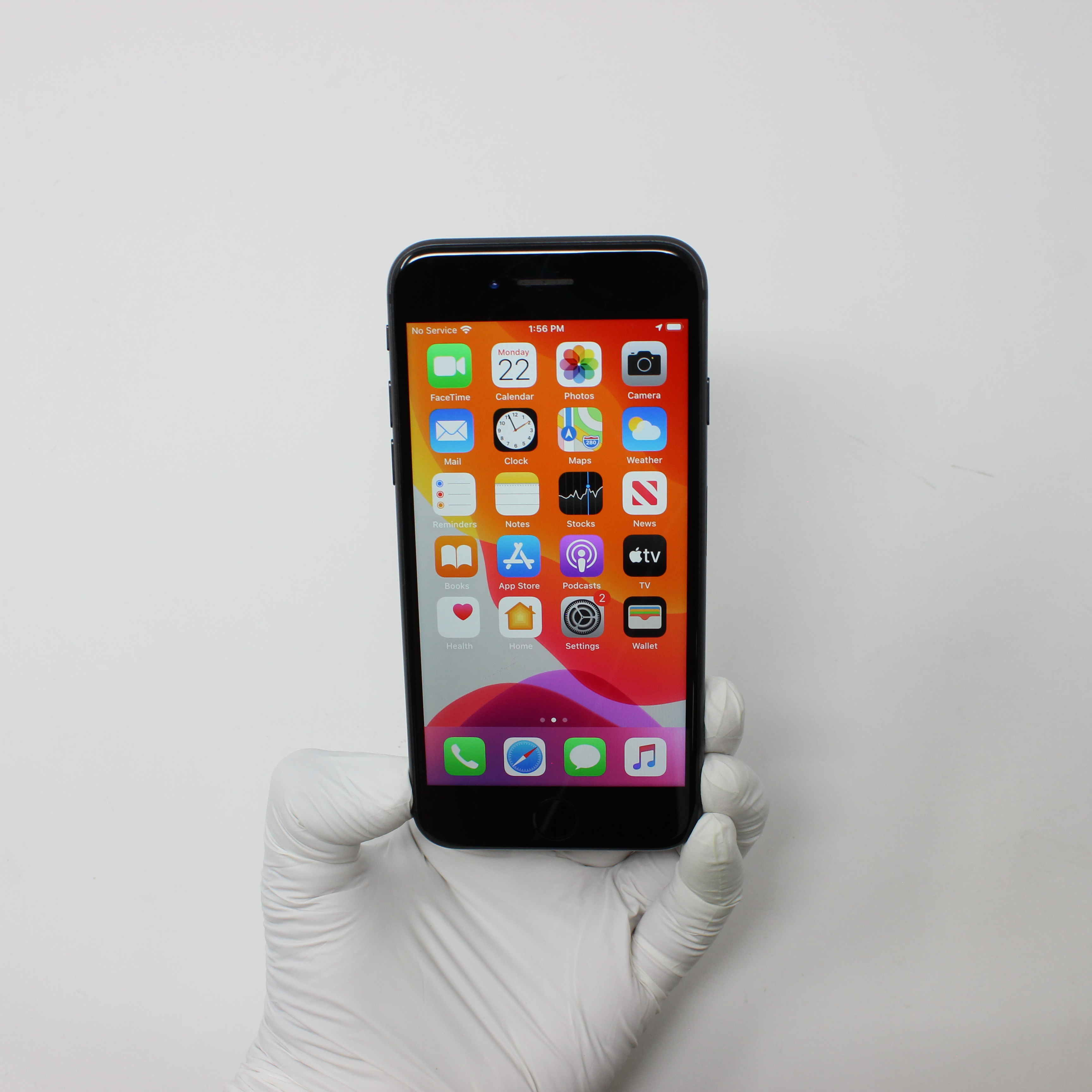 iPhone 8 64GB Space Gray - T-Mobile front display on | UpTradeit.com