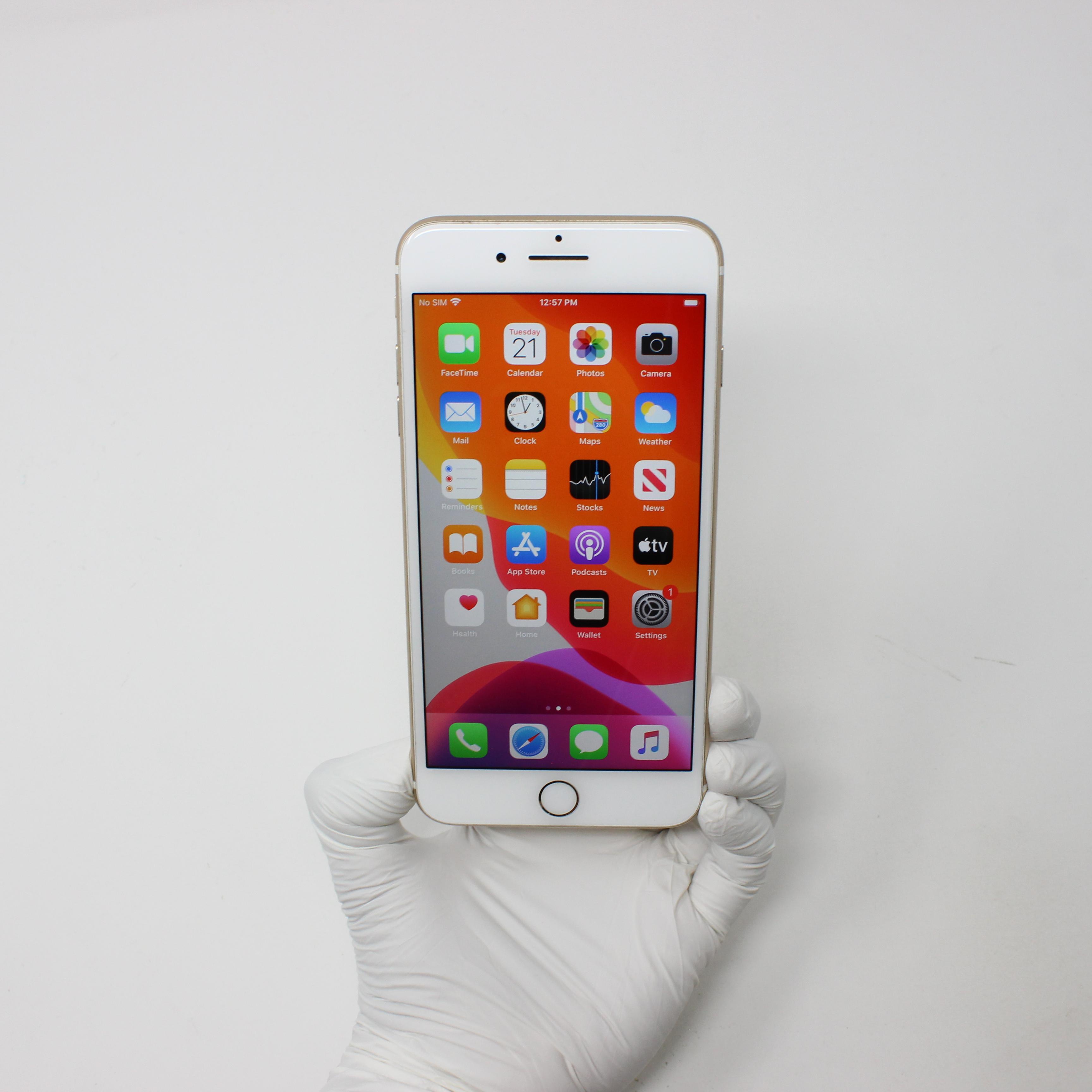 iPhone 7 Plus 32GB Gold - Verizon front display on   UpTradeit.com