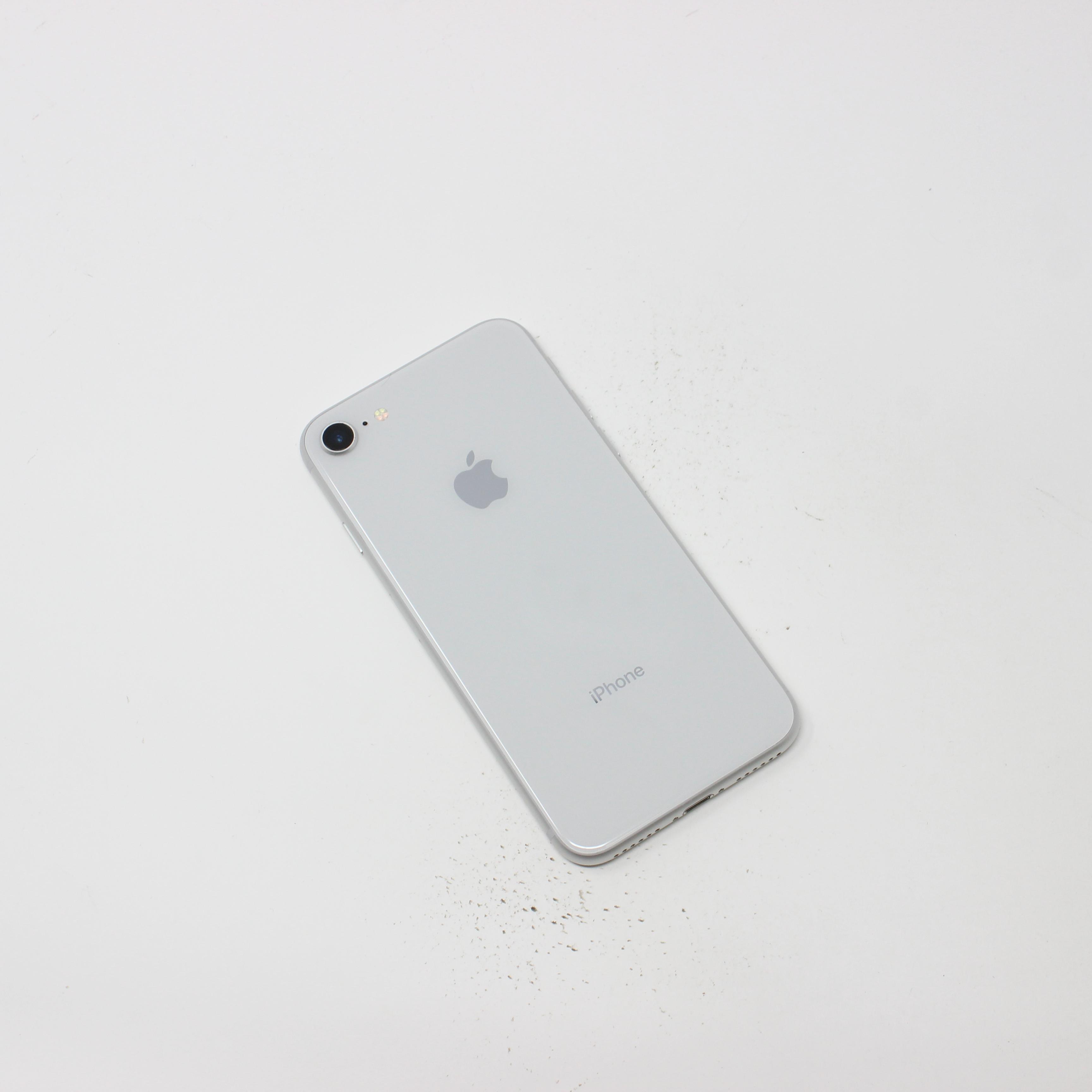 iPhone 8 64GB Silver - AT&T photo 3   UpTradeit.com