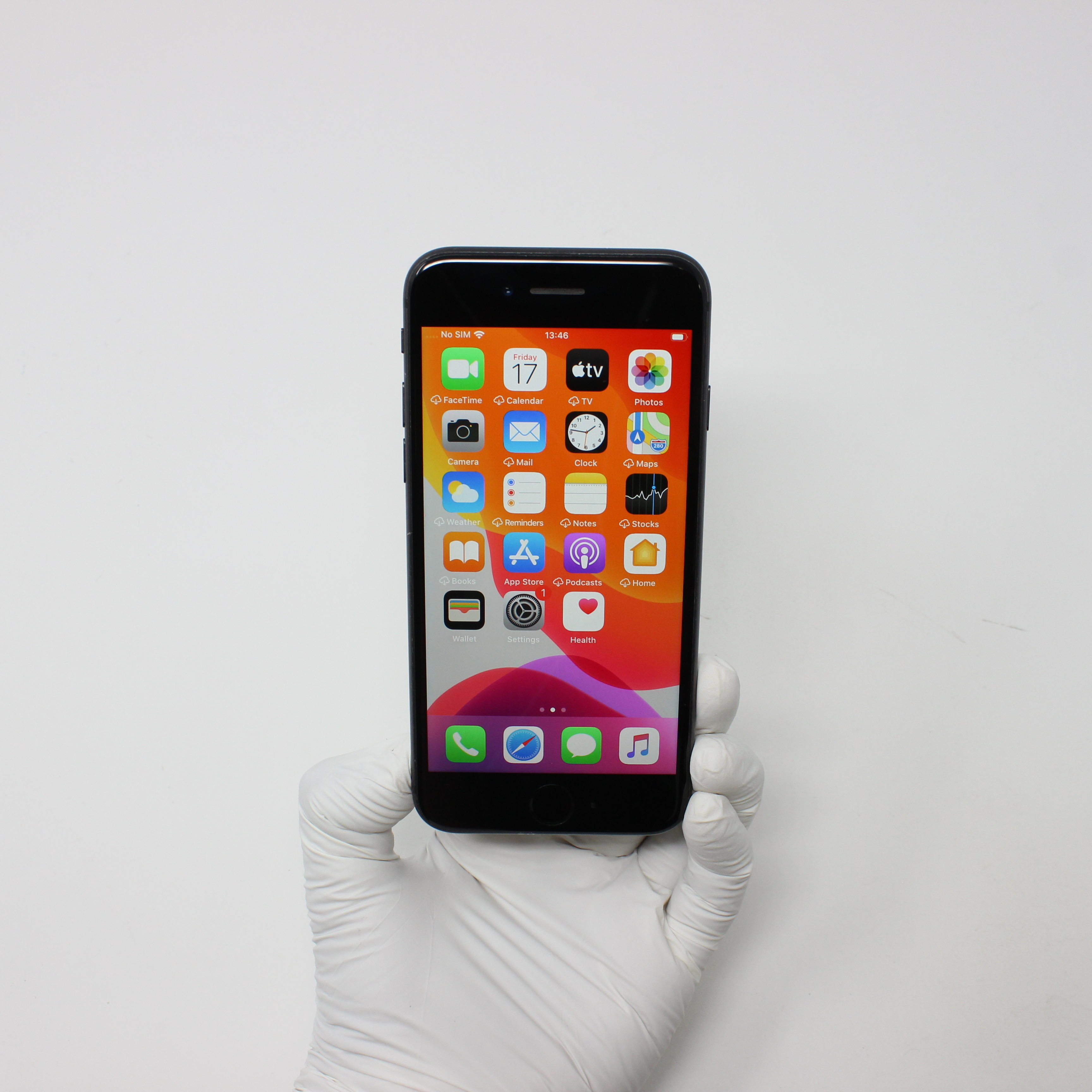 iPhone 8 64GB Space Gray - T-Mobile front display on   UpTradeit.com