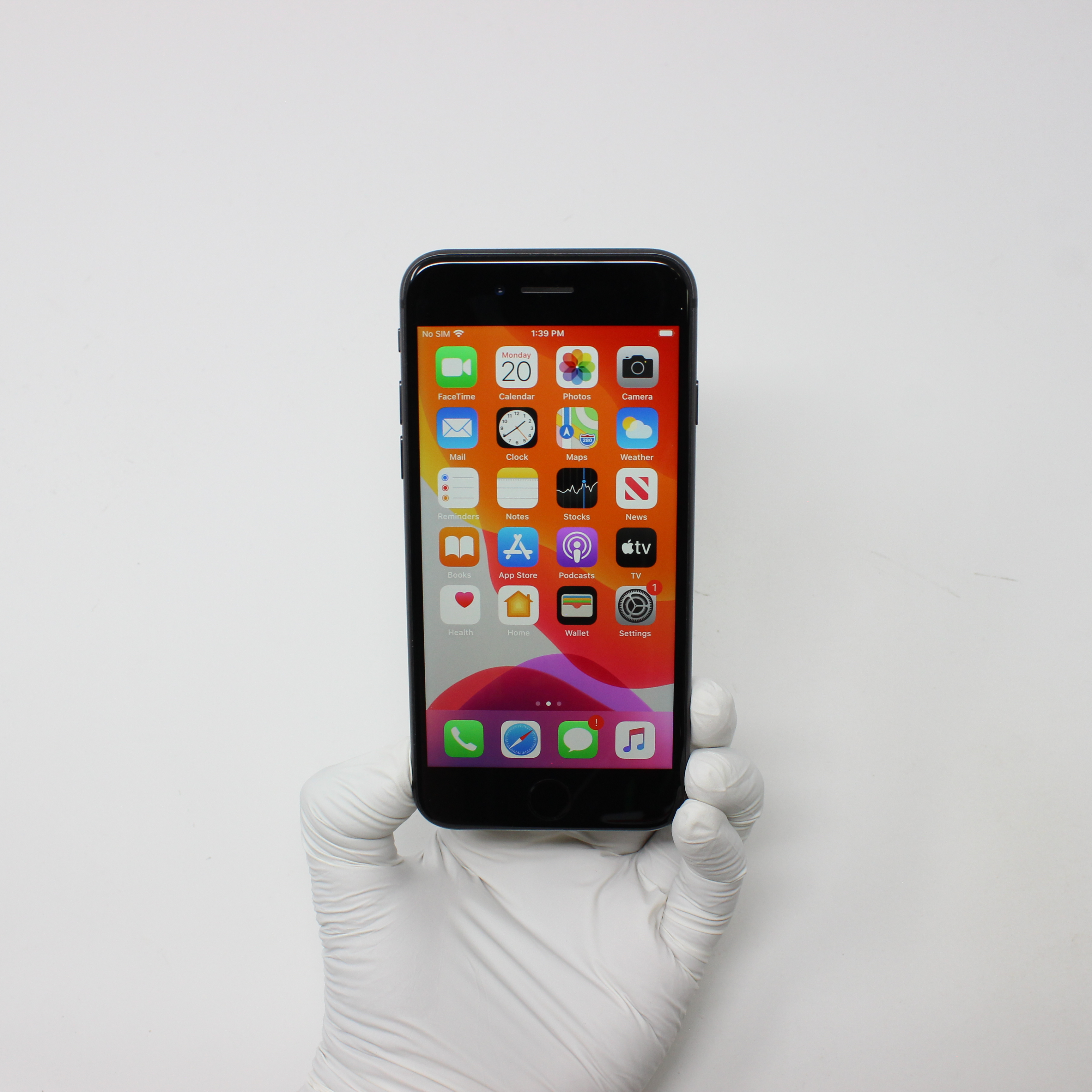 iPhone 8 64GB Space Gray - AT&T front display on   UpTradeit.com