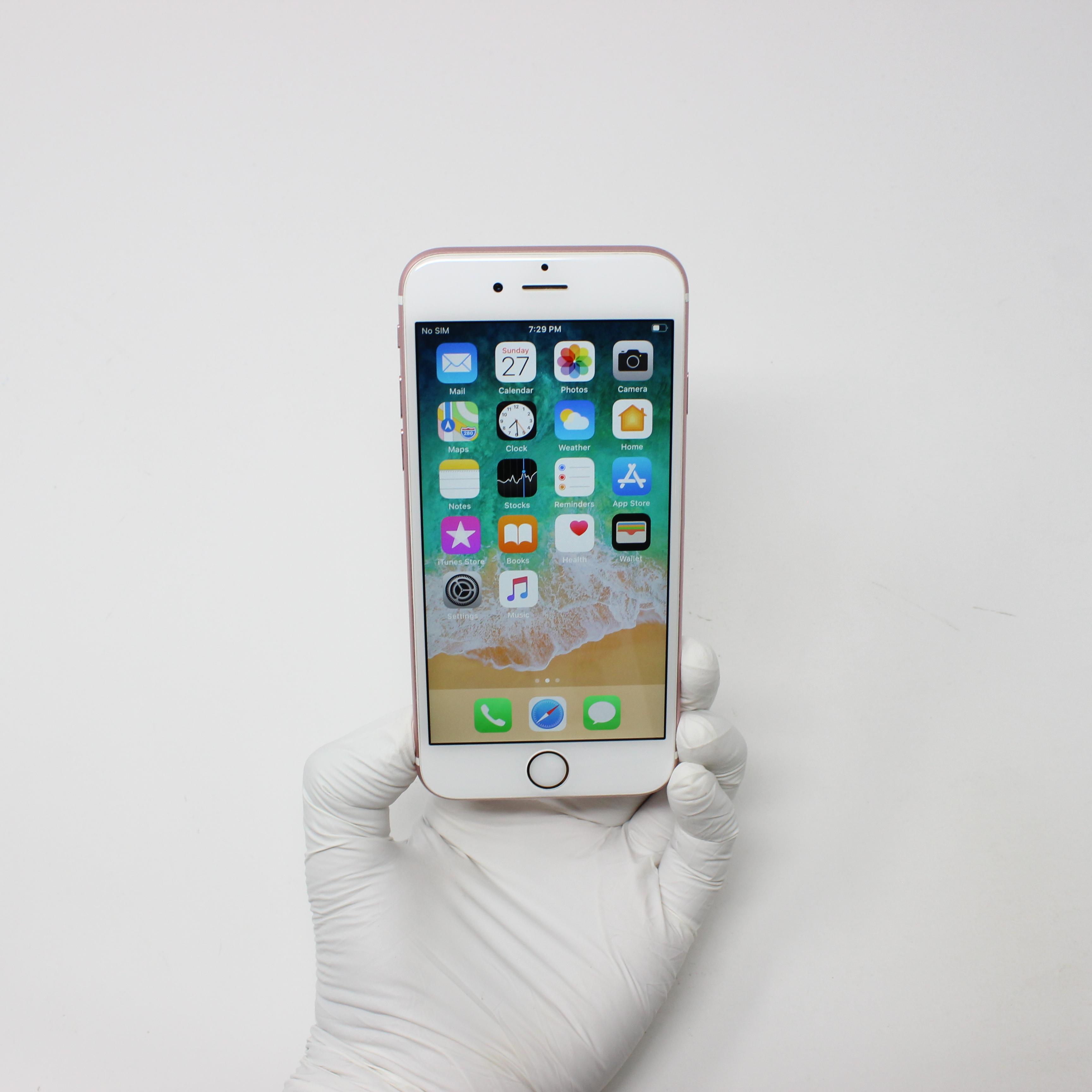 iPhone 6S 32GB Rose Gold - Verizon front display on   UpTradeit.com