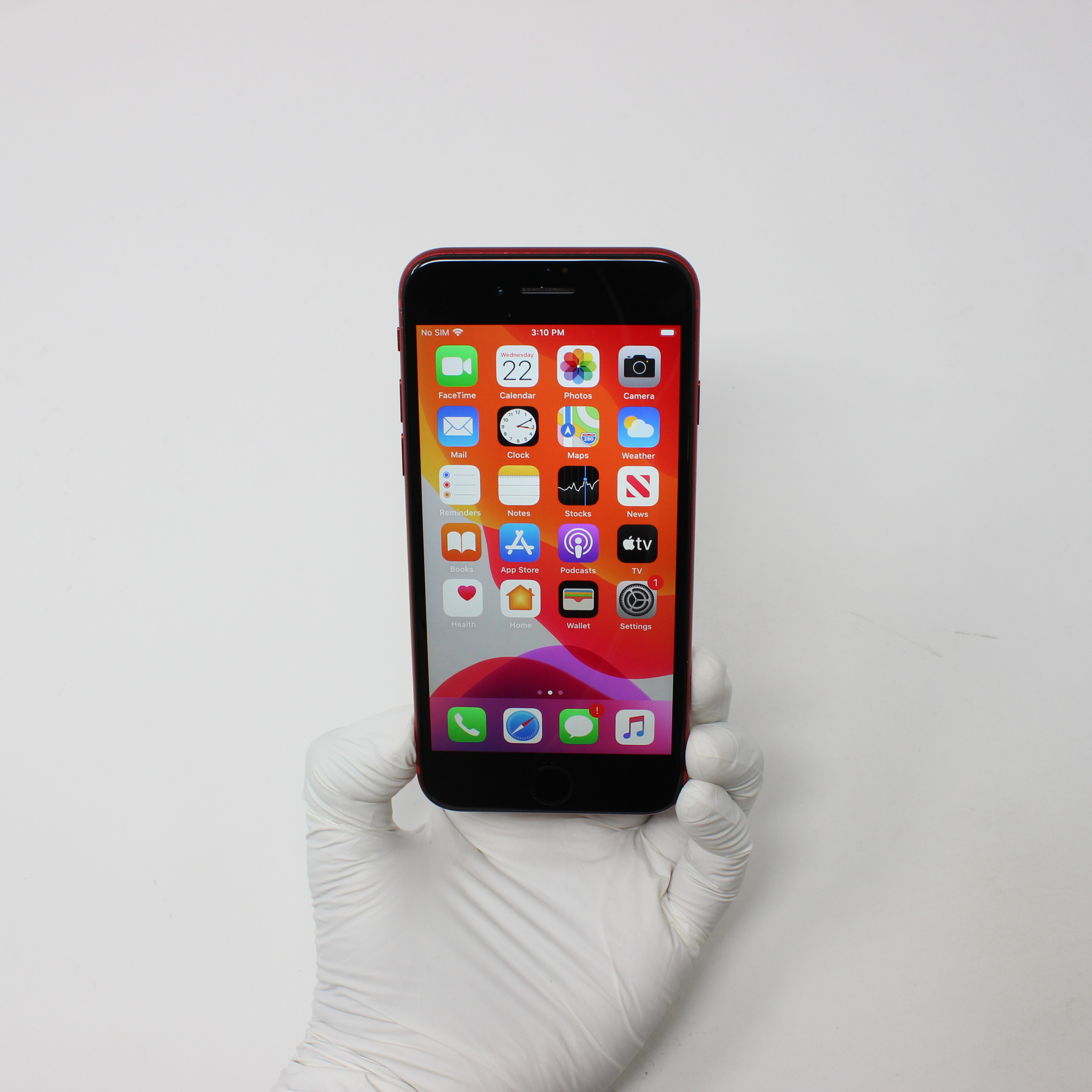 iPhone 8 64GB Gold - AT&T front display on | UpTradeit.com