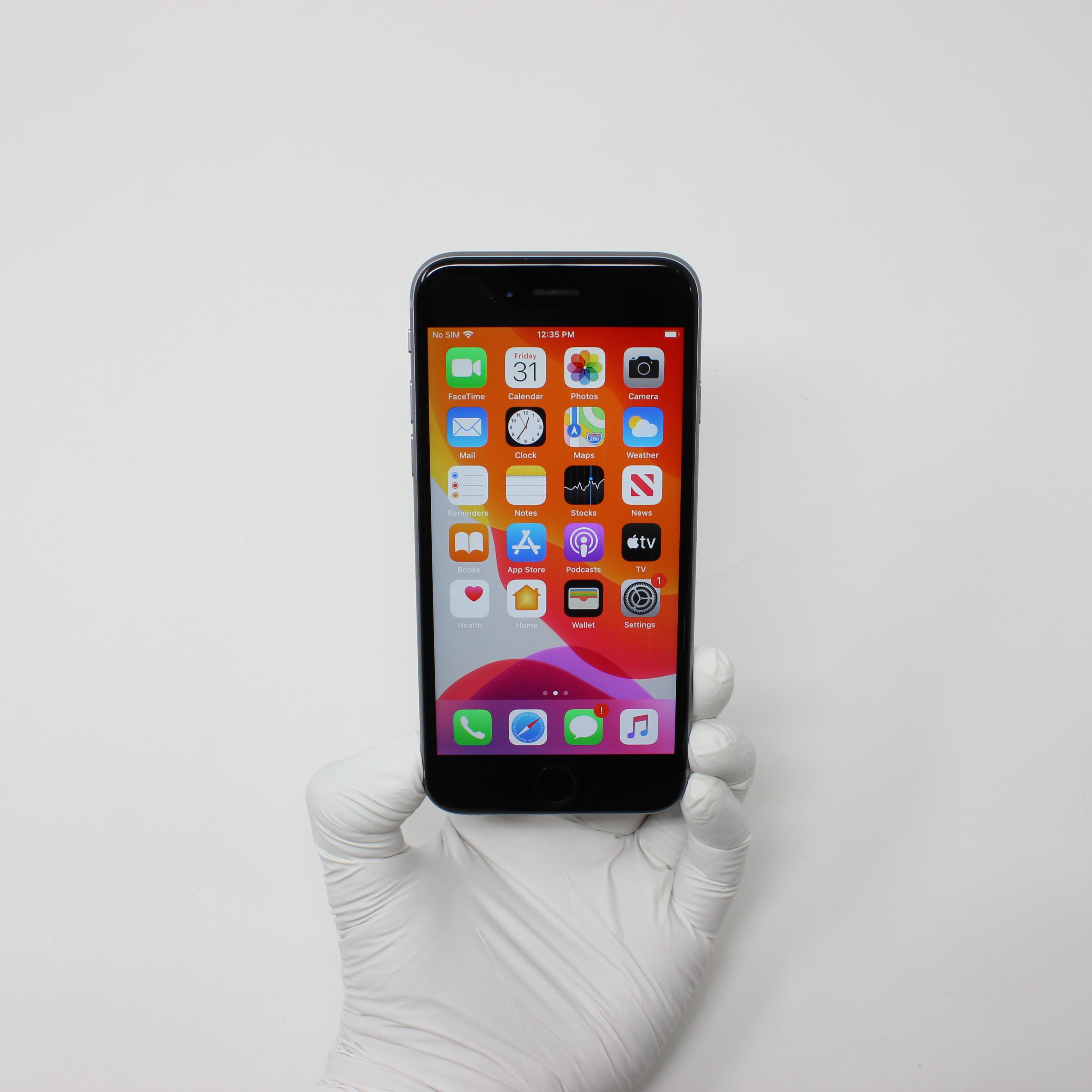 iPhone 6S 32GB Space Gray - Unlocked front display on | UpTradeit.com